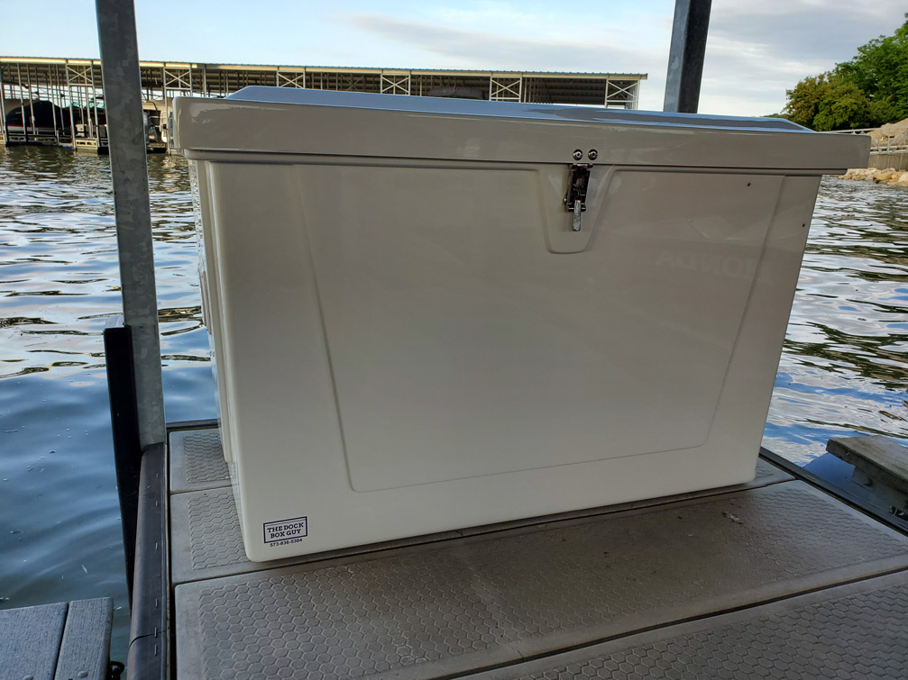 4 ft. fiberglass dock box