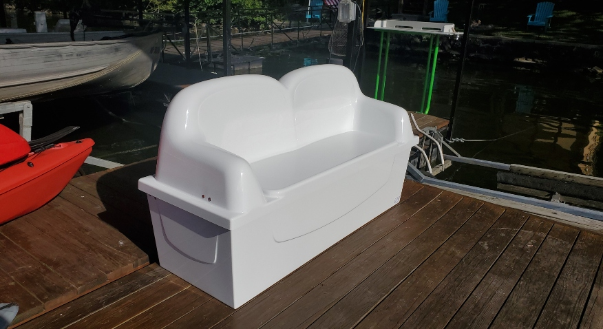 Dock Box Lounger
