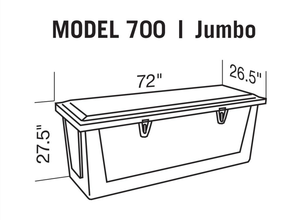 Jumbo Dock Box