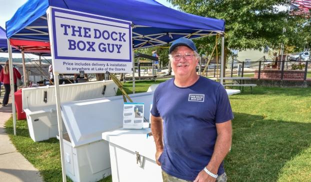 Steve Doll at LOMDA Boat Show