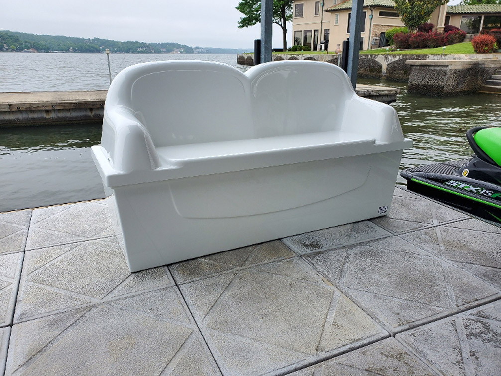 Lounger Dock Box